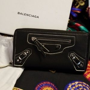 Balenciaga EUC 2016 Motocross Highlight Wallet